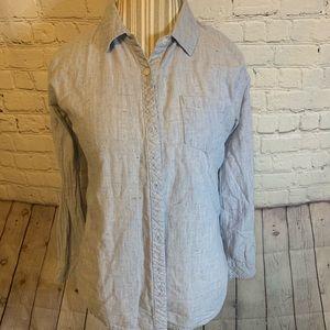 Rails lightweight chambray shirt, L